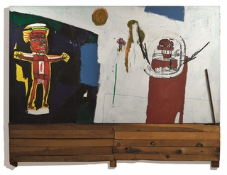 Medium no.2               jean michel basquiat  water worshipper